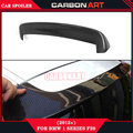 for bmw accessroies tuning parts 1 series f20 3 doors 2012 2013 2014 2015 carbon fiber cloth 3D design gt wing spoiler for cars