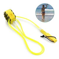 bbeaa11a6 Surfing 6ft 10ft Surfboard Leash Rope Stand Up Paddle Board Leash Smooth  Steel Swivel Surfing Leg