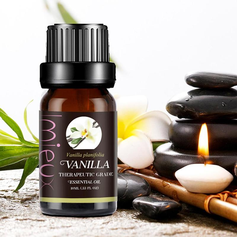 Pure Essential Oils For Organic Body Massage Relax 10ml Fragrance Oil Skin Aromatherapy Diffusers Essential Oil Vanlla Lemon