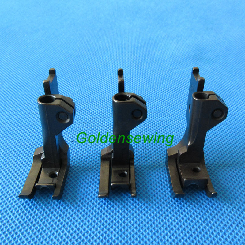 3 SET double welt piping feet SINGER 111W INDUSTRIAL WALKING FOOT SEWING MACHINE