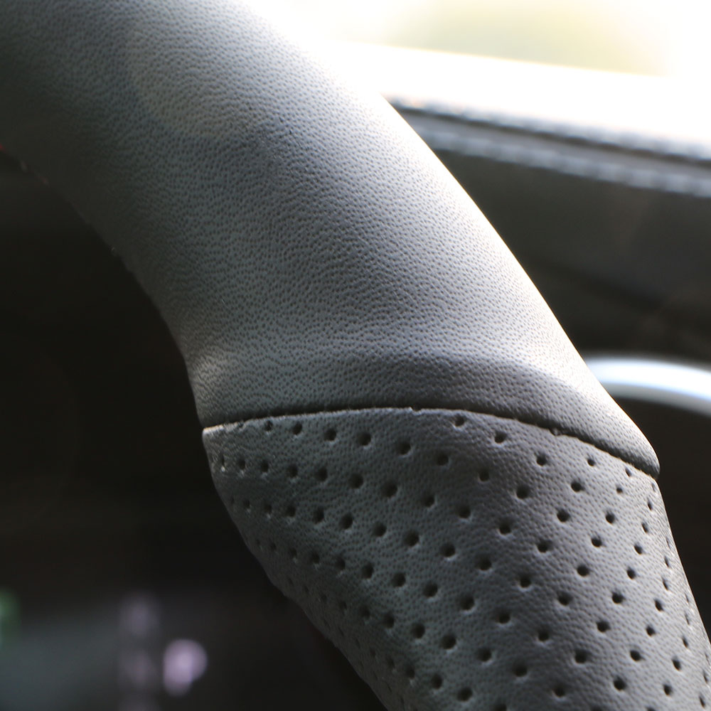 Image 3 - Steering wheel cover for Skoda Octavia 2017 Fabia 2016 2017 Rapid Spaceback 2016 Superb (3 Spoke)/ Skoda Octavia 2015 Rapid Yeti-in Steering Covers from Automobiles & Motorcycles
