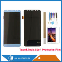 High Quality For Leagoo M9 Touch Screen With LCD Display Digitizer Black Blue Color With Kits