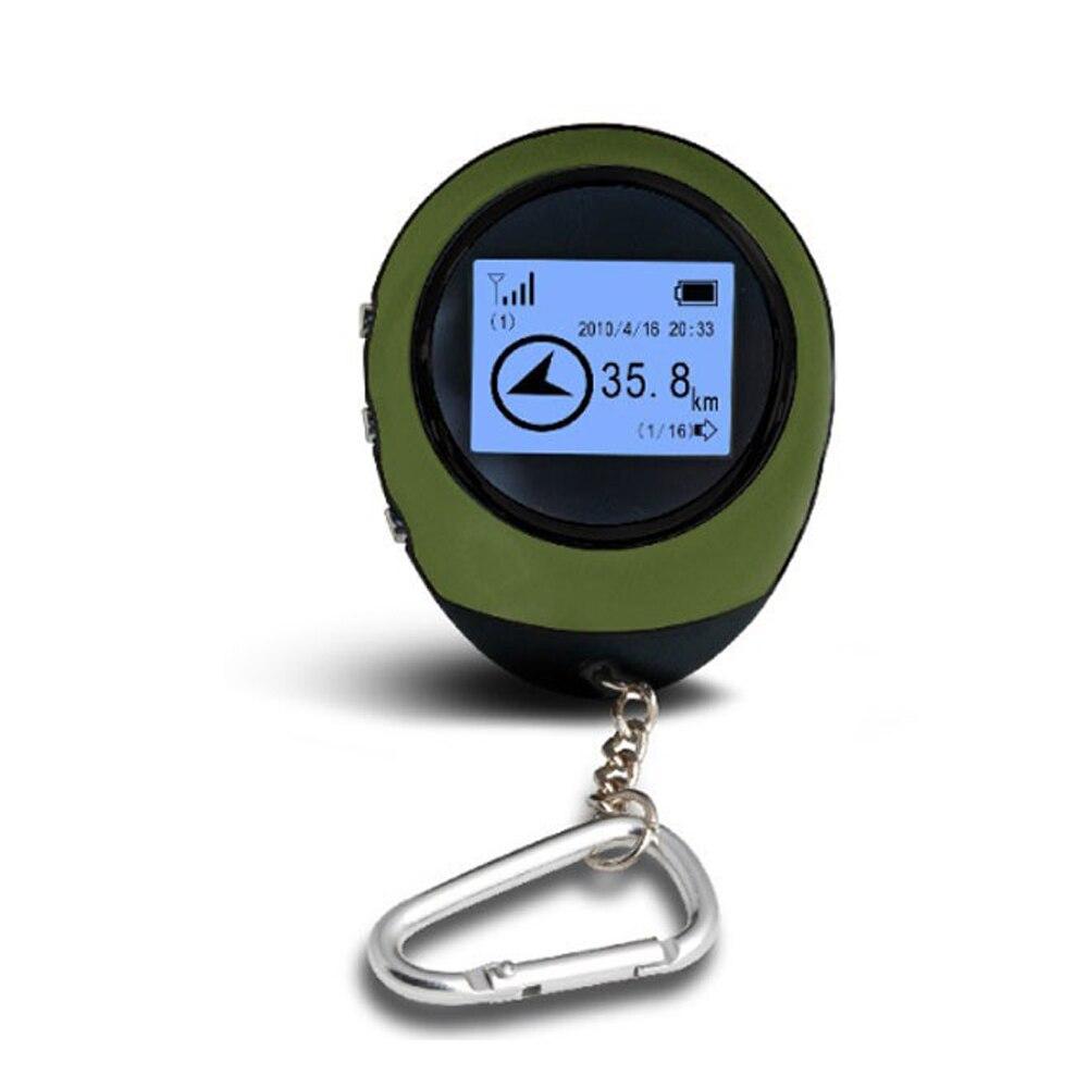 Podofo Новый мини ручной gps-навигатор, приемник для поиска местоположения, USB Перезаряжаемый с электронным компасом для путешествий на открыто...