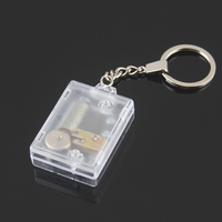 DIY Music Box Keychain For New Year Christmas Wedding Birthday Gift With Your Owner Photo Free