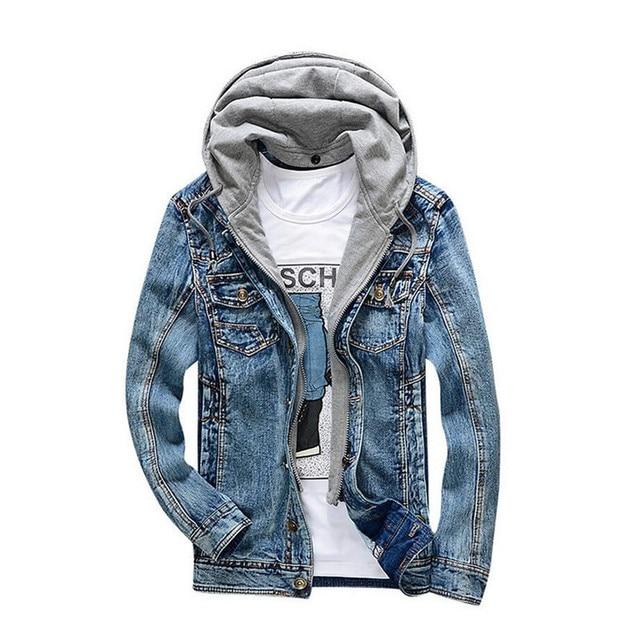 Aliexpress.com : Buy New 2017 Winter Denim Jacket Men Brand ...