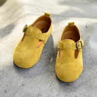 Genuine Leather Children S Sports Shoes Suede Girls Sneakers Boys Casual Shoes Kids Running Shoes