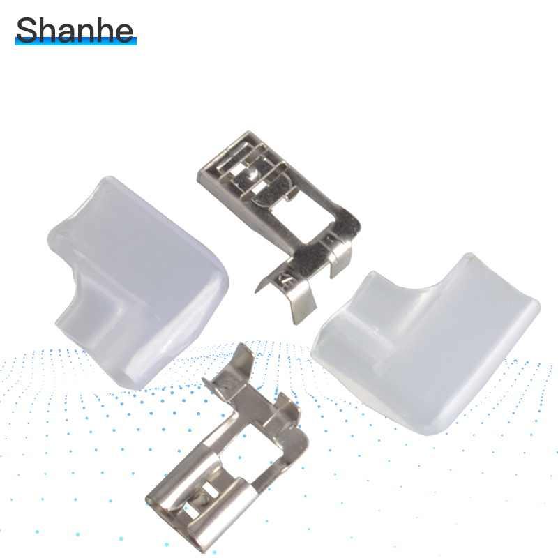 Case Male Spade Connector 6.3mm Crimp Spring Terminal Female Spade Connector