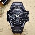 2017 Relógios Digit LED Esporte Militar Do Exército Relógios Homens 30 M à prova d' água Dual Time Relógios Casuais Relógio Automático Menino & Masculino presente