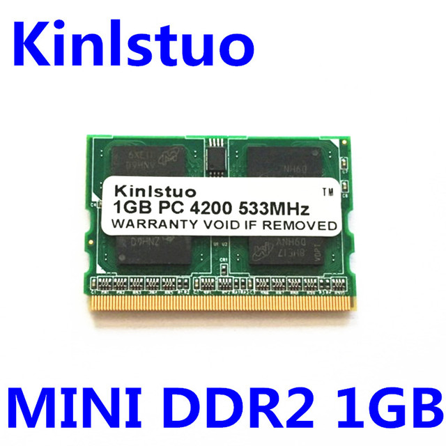 Mini Memory 1 Gb 2gb DDR2 533MHz 172 Pin Micro
