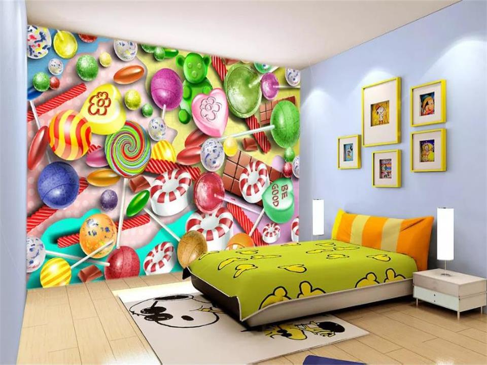 3d photo wallpaper custom living room mural cartoon candy decorative paining kids picture 3d wall mural wallpaper for walls 3d light green damask self adhesive 3d photo wallpaper 3d modern european large mural living room 3d wallpaper d8792