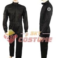Star Wars Imperial Tie Fighter Pilot Flightsuit Cosplay Costume Uniform Suit