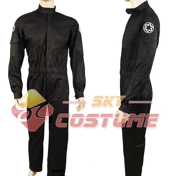 Star Wars Imperial 181st Tie Fighter Costume Cosplay WING PILOTE officier uniforme :