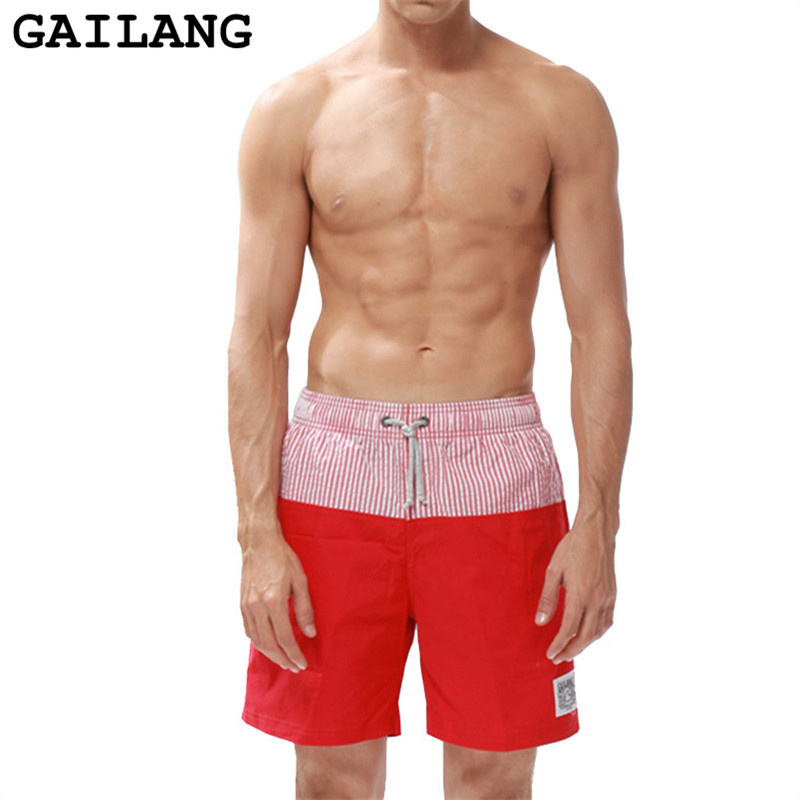 GAILANG Brand Mens Patchwork Board Shorts Swimsuit Beach Shorts Swimwears Man Quick Drying Loose Plus Size