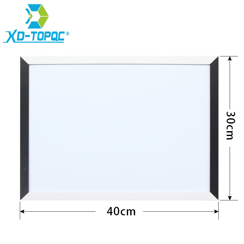XINDI New 30*40cm Magnetic Whiteboard MDF Black & White Frame Wooden Drawing Board Home Decorative Notice Boards Hot Sale WB08