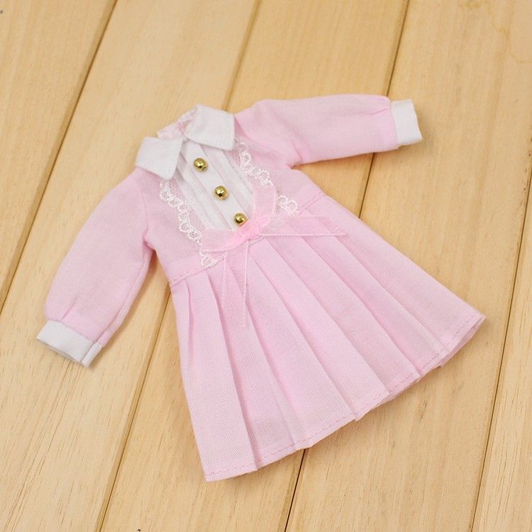 Neo Blythe Doll Autumn Dress with Long Sleeves 4