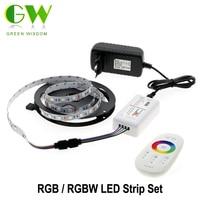5050 RGB LED Strip 5m 2 4G Touch Controller DC12V 60LED M RGB Flexible LED Light