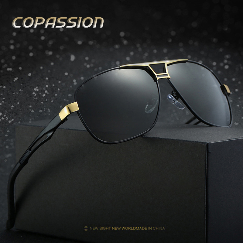 2017 Luxury Brand Polarized Sunglasses Men Goggles Women sunglass Leisure Sun glasses oculos de sol masculino with Accessories