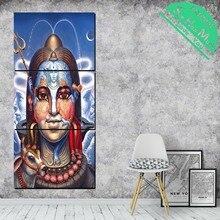 3 Шт. Лорд Шива Традиция Настенные Панно HD Печатные Холст Картины с Картинами Украшения Стены