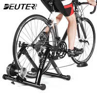 Entrenador de bicicleta de ejercicio de interior entrenamiento en casa 6 velocidades resistencia magnética bicicleta entrenador de carretera MTB bicicleta entrenadores rodillo de ciclismo