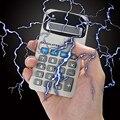 1 Pc Practical Joke Funny Electric Shock Calculator Kids Adults Electriferous Prank Toy Novelty Gag Gift Calculator Prank Toy