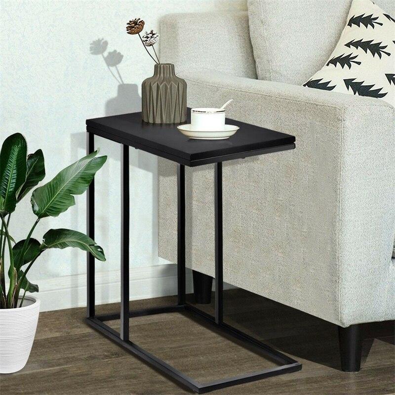 Marque C forme café plateau canapé côté Table d'extrémité de haute qualité MDF robuste Durable parfait décor chambre salon Tables basses
