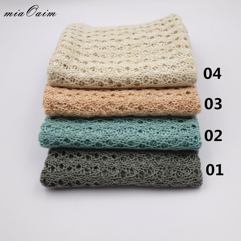 Boys' Baby Clothing Careful 105*40cm Stretch Knit Wrap Newborn Photography Props Baby Kid Receiving Blanket Rayon Wraps Maternity Scarf Hammock Swaddlings Strong Packing