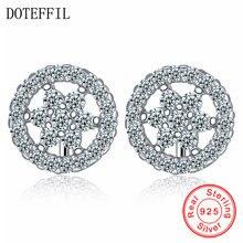 Doteffil ювелирные изделия из стерлингового серебра 925 Серьги