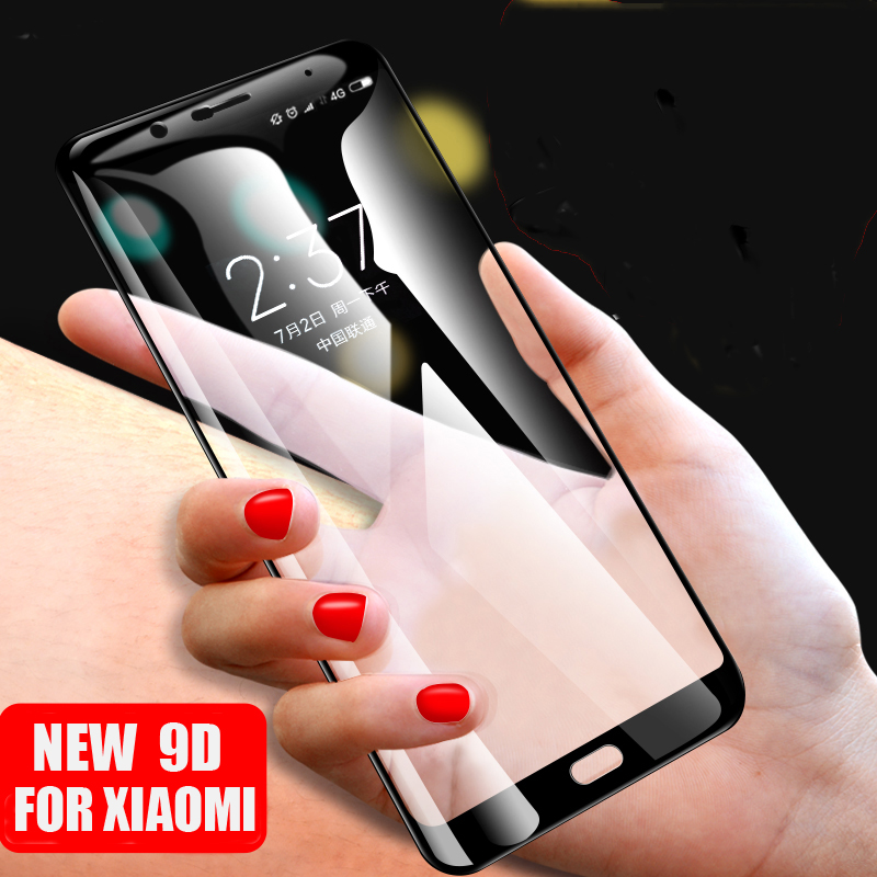 9D Full Coverage Glass Protective Tempered Glass For Xiaomi Mi Note 3 2 Screen Protector For Xiaomi Note3 Glass Curved Edge Film in Phone Screen Protectors from Cellphones Telecommunications