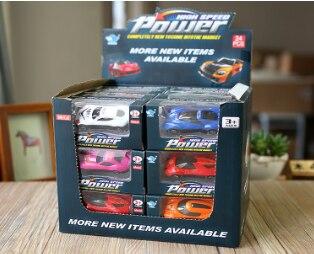 2018 1: 64 Baru Mainan Anak-anak Baru Paduan Mobil Mainan Paduan Teknik Kendaraan (Acak Dikirim) 1 Pcs Satu Mobil