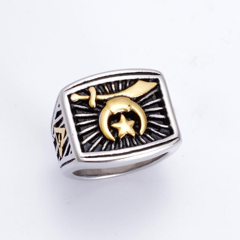 Fashion online game of warcraft titanium steel ring steel casting titanium rings ...