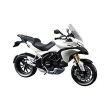 Maisto 1 12 DUCATI MULTISTRADA 1200S 31188 White MOTORCYCLE BIKE Model FREE SHIPPING