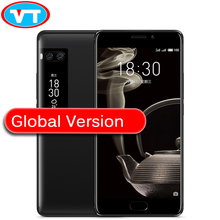 Küresel ROM Orijinal Meizu Pro 7 Artı 6 GB 64 GB MTK Helio X30 Deca Çekirdek 2.6 GHz 5.7