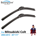 "Wiper Blades for Mitsubishi Colt 2004-2013 26""+11"", Set of 2, The Best Windshield Wipers"