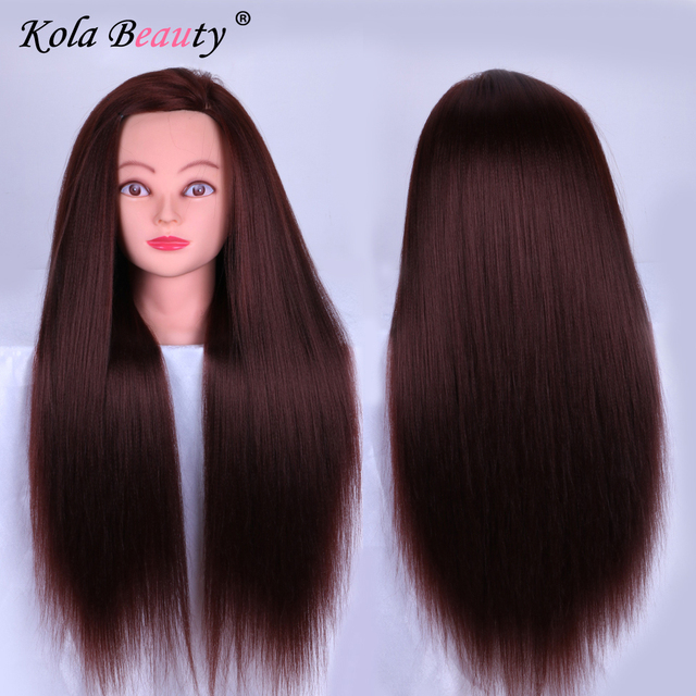Dummy Hairstyles Mannequin Training Head Hair Styling Long Mannequins Cosmetology Heads Models