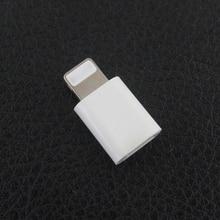 Новый Кабель Micro Usb до 8 Контактный Адаптер Для Apple iPhone 5 5S SE 6 6 S ipad Конвертер Зарядное Устройство 8pin Женский Адаптер Для Android iPhone(China (Mainland))