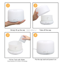 Humidifier Essential oil diffuser  de aroma Mist maker