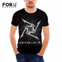 2017 Classic Heavy Metal Rock Metallica T Shirt Men Cotton Short Sleeve Tees Fashion Summer Style