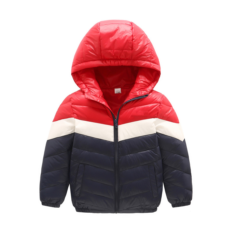2017 Teens Girl Boys Winter Outwear Coat Hooded Jacket Children Duck Down Jacket Boy Clothes Kids Patchwork Down Parkas 3-12 Yrs 2016 winter jacket girls down coat child down jackets girl duck down long flower hooded loose coats children outwear overcaot