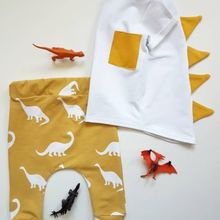 Newborn Toddler Boys clothes Dinosaur Outfits Casual Long Sl