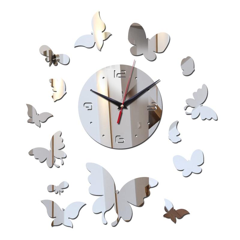Direct Selling Wall Clocks Clock Diy Home Decor Mirror