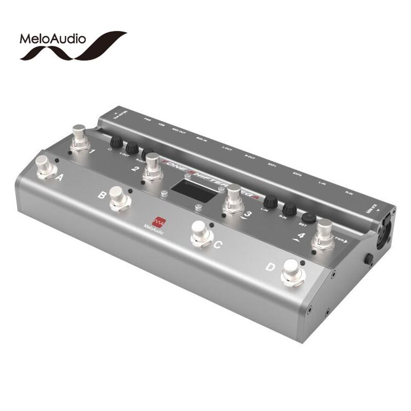 MeloAudio Tono Shifter Mega Chitarra Interfaccia Audio Integrato MIDI Controller a Pedale Otto Interruttore A Pedale