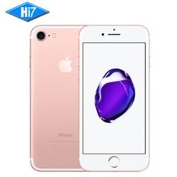 New Original Apple iPhone 7 2 GB RAM 128 GB ROM IOS 10 12.0MP Caméra Quad Core D'empreintes Digitales Marque 4G LTE Téléphones Cellulaires iphone7