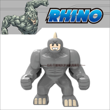 Decool Super Heroes The Avengers Big The Rhino Action Figures Assemble Minifigures Hulk Building Blocks Kids Toys Gifts