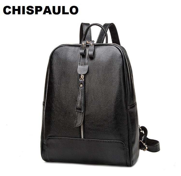 Designer Women's Backpacks Genuine Leather Female Backpack Women School Bag For Girls Large Capacity Shoulder Travel bags N021