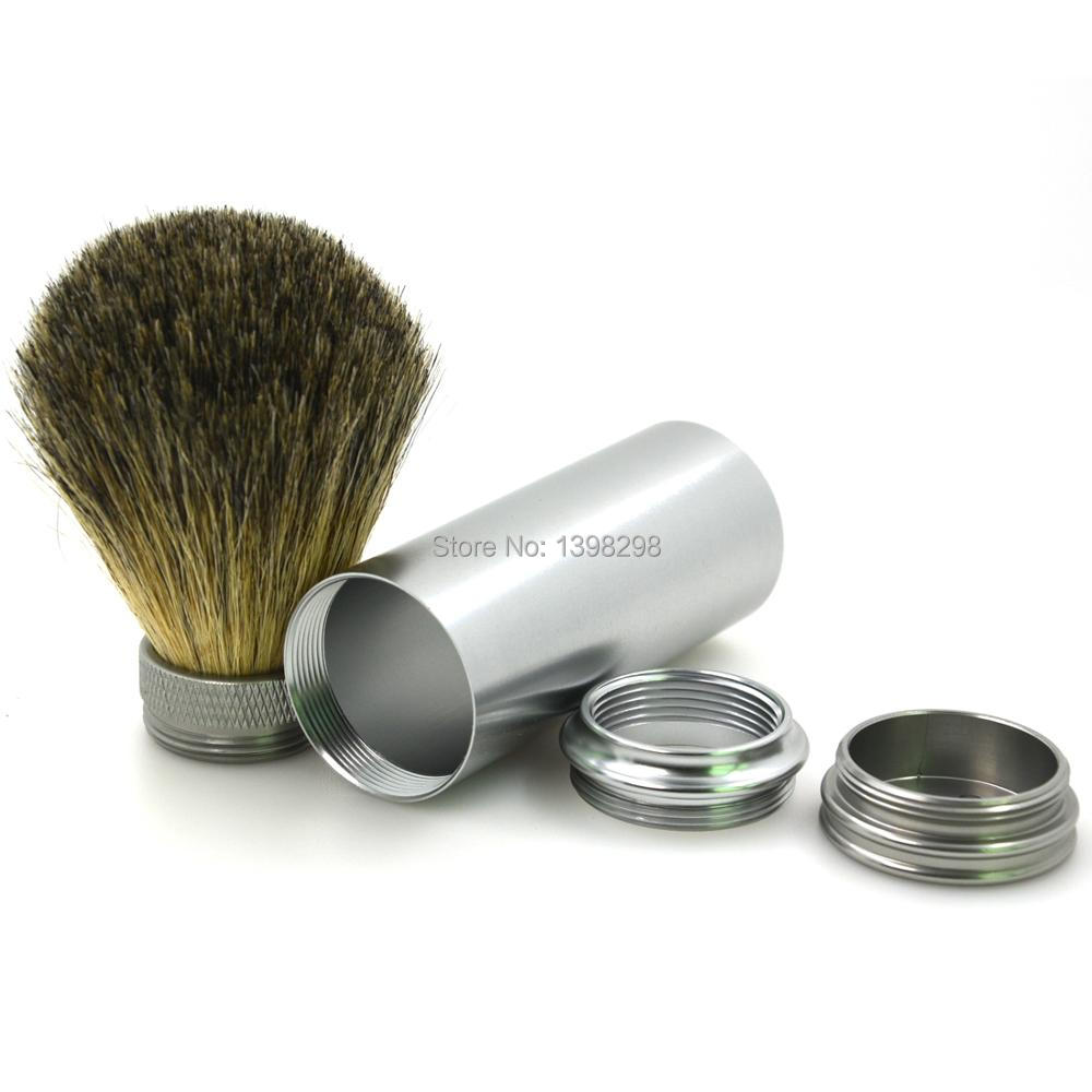 CSB Pure Badger Hair Brush Knot Metal Handle Travel Shaving Brush Hot Sale Hight Quality Traditional Shaving