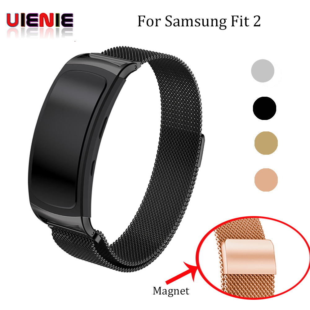 Bracelet Milanese Magnetic Loop Band For Samsung Gear Fit 2 Fit2 Pro SM-R360 Smart Watch Strap Stainless Steel Watchbands Bracelet Milanese Magnetic Loop Band For Samsung Gear Fit 2 Fit2 Pro SM-R360 Smart Watch Strap Stainless Steel Watchbands
