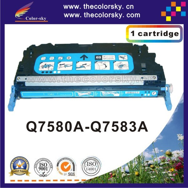 (CS-H7580-7583) compatible toner printer cartridge for HP Color LJ CP3505 CP3505n CP3505x CP3505dn CP 3505 3800 3800n 3800dtn remanufactured replacement for hp 503a toner cartridge set 2black q6470a for hp color laserjet 3600 3600dn 3800 3800dn 3800n