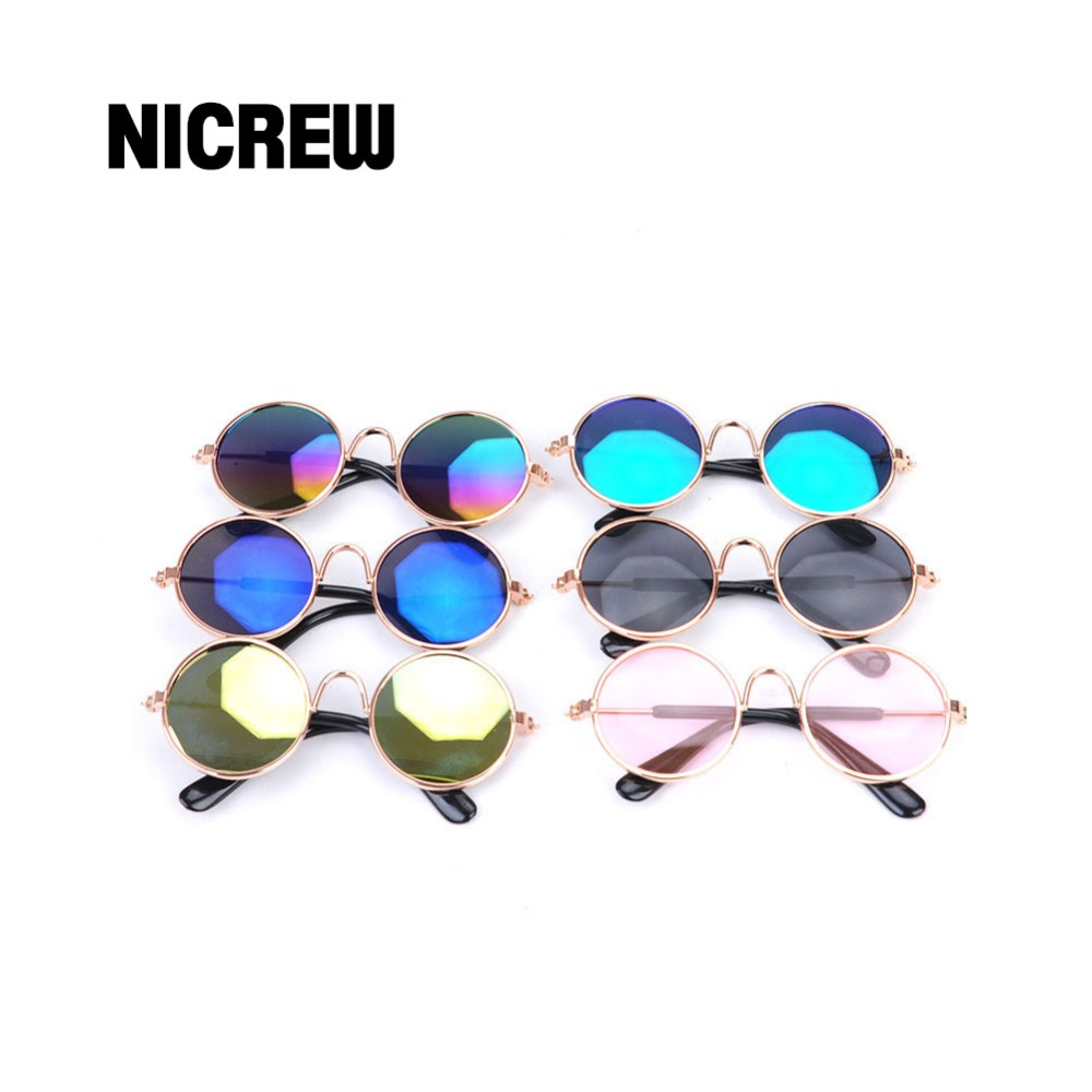 Nicrew Dog Cat Pet Glasses For Pet Products Eye-wear Dog Pet Sunglasses Photos Props Acc ...