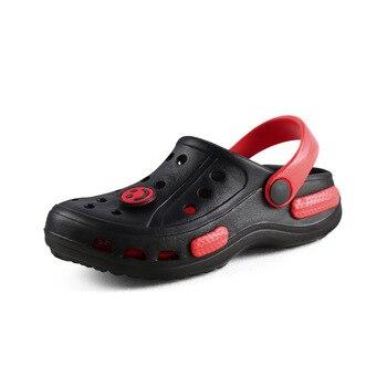 ילדים לבנים חוף סנדלי קיץ תינוק חור נעלי בית בני בית כישלון להעיף ילדי החלקה בית גן נעליים יומיומיות