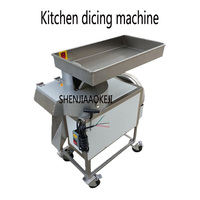380V 0.75KW vegetable cutting machine tj 314 Commercial potato dicing machine and Radish cutting machine Food cutter 1 pc